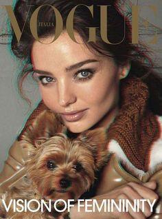 The Miranda Kerr Vogue Italia September 2010 Issue #photography trendhunter.com