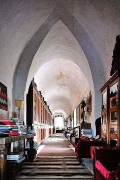 Convento di Santa Maria di Constantinopoli, Apulia, Italy,photo©DavidDeVleeschauwer. https://www.yatzer.com/remote-places-stay