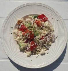 Griekse bloemkoolrijst salade – Lekker&Gezond eten – kha