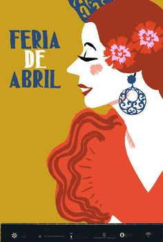 Cartel Feria de Abril de Sevilla.