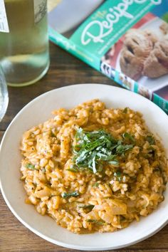 Tomato Mascarpone Risotto from Whats Gaby Cooking