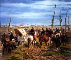 Il campo italiano alla battaglia di Magenta, Giovanni Fattori