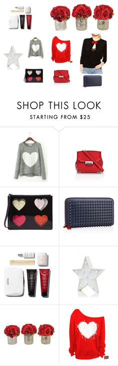 """""""Valentin's day"""" by maria-ines-dias on Polyvore featuring Alexander Wang, Christopher Kane, Christian Louboutin, women's clothing, women, female, woman, misses and juniors"""