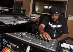 Lord Finesse & His SP1200