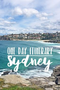 Sydney Australia One day itinerary