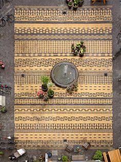 subtilitas: 1:1 Landskab - Classensgade courtyard, Copenhagen 2010. There's a lot of detail in that brickwork.Via, photos (C) Anders Sune Berg.