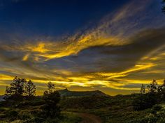 Burning Sky  by Sam Okamoto - Landscapes Cloud Formations ( mountains, ca, sky, clouds formations, castle peak, truckee,  )