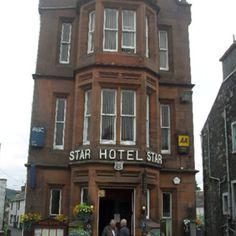 The star hotel, Moffat Scotland