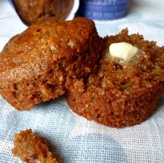 Banana Bran Muffins, Muffins Blueberry, Applesauce Muffins, Breakfast Muffins, Bran Muffins With Raisins, Applesauce Baking, Breakfast Biscuits, Morning Glory Muffins, Brunch Recipes