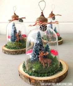 42 DIY Rustic Christmas Ornaments Ideas On a Budget 42 DIY rustikale Weihnachtsschmuck Ideen . Rustic Christmas Ornaments, Christmas Gifts For Mom, Christmas Candle, Handmade Ornaments, Homemade Christmas, Christmas Tree Decorations, Vintage Christmas, Christmas Crafts, Ornaments Ideas