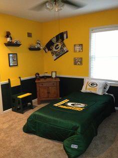 Nice My Little Boy Loves His New Packer Room! Greenbay ...