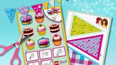 Download: Host a Cupcake party! - Downloads - Activities - Friends LEGO.com