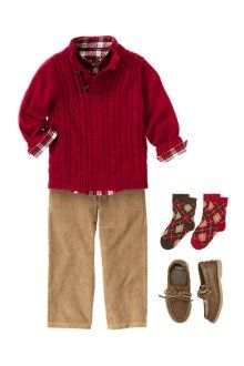 Christmas Outfit: Boy Gymboree