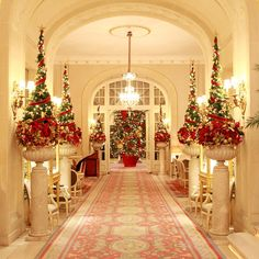 Christmas is a time to relax, so for those of you who don't want to lift a finger, here are some of the UK hotels that go-all out for the festive season.