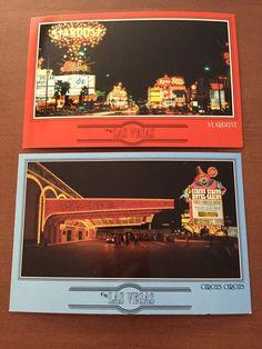 Circus Circus & Stardust Hotel Casino Las Vegas Nevada Vintage Postcards  | eBay