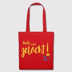 Klare Ansage an Montage! #gutelaune #lachen #stoffbeutel Reusable Tote Bags, Textile Printing, Good Mood, Laughing, Sachets, Ideas