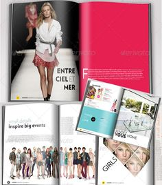 Magazine! 24 Pages InDesign Template