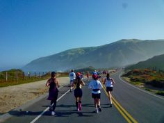 The Big Sur Marathon-Californië