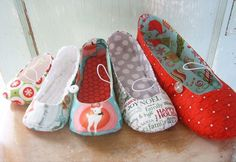 PDF Sewing Pattern - Vintage Flair flats newborn to women's size 11
