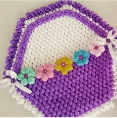 This Pin was discovered by HUZ Easter Crochet Patterns, Crochet Vest Pattern, Crochet Stitches, Crochet Clothes, Crochet Hats, Crochet Flowers, Doilies, Pot Holders, Diy And Crafts