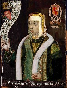Berengaria of Navarre, b.1170 d.23 December 1230, wife of Richard I the Lionheart.  Clearly not comtemporary.