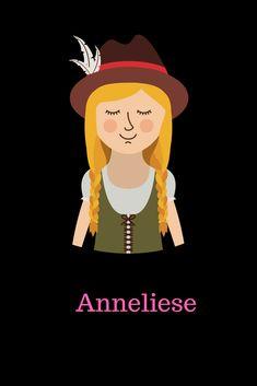 Origin: German Meaning: combo of Anna + Liese Gender: Feminine Eng. (AN-ne-LEES); Germ. (AH-neh-LEE-zeh; AHN-ne-LEES) The name is a combination of Anne/Anna and Liese (a diminutive form of Elisabet…