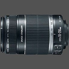 Canon EF-S 55-250mm f/4-5.6 IS reviews on Fred Miranda