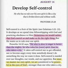 Self-control ♡