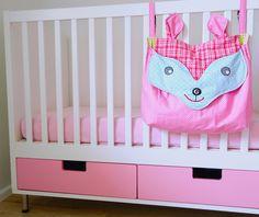 FUX Tasche fürs Babybett #zwergenverpackung #farbenmix