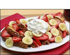 HG's Big Banana-Berry French Toast  9 pts