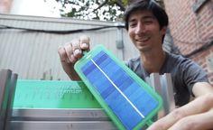 shawn frayne, alex hornstein, kickstarter, pv panels, solar panels, micro solar, the solar pocket factory