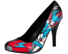 comic book style sexy lightening shoes ... I need these