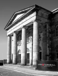 Lyon & Turnbull HQ in Edinburgh, Black & White