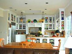 Charmant The Cabinets In This Kitchen Are Amazing! Obviously Filled By A Fiestaware  Fan!