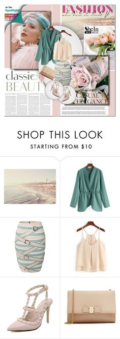 """""""Shein 3"""" by angel-a-m on Polyvore featuring Marina Hoermanseder, Salvatore Ferragamo and shein"""