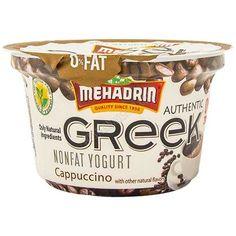 Mehadrin Greek Yogurt Cappuccino, 6 Oz