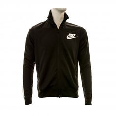 Nike Mens Tribute Track Jacket (Black/White)