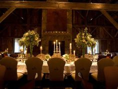 An elegant formal wedding in a lodge with rustic fireplace. #countrywedding #rusticweddingdecor http://www.gactv.com/gac/photos/article/0,,GAC_42725_6075192.html?soc=pinterest