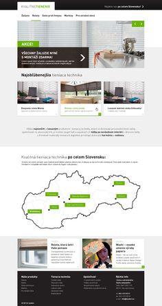 Kvalitne tienenie #webdesign Shopping