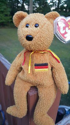 ed120639924 Ty Beanie Baby - Germania the Bear