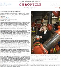 Guest Column Chapter 19 Prof. Mary Cronin