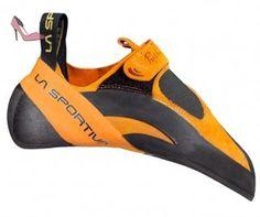 La Sportiva Python - Chaussures d'escalade Homme - orange/noir Taille cadre 40,5 - Chaussures la sportiva (*Partner-Link)