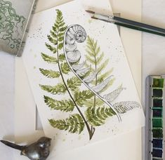 Ferns, watercolors Group Tattoos, Filigree Tattoo, Muse Art, Kiwiana, Jewelry Tattoo, Nature Tattoos, Visionary Art, Patterns In Nature, Doodle Drawings