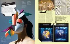 IdN v20n4: Paper Special by IdN Magazine, via Behance