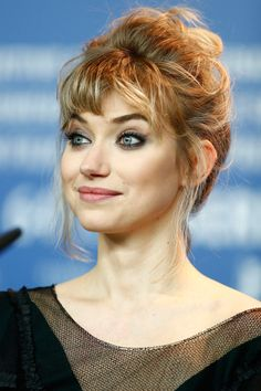 Imogen Poots Pictures 'A long way down' Press Conference - 64th Berlinale International Film Festival -