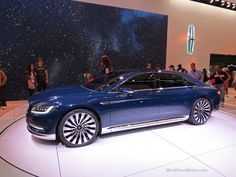 NYIAS 2015 Lincoln Continental Concept