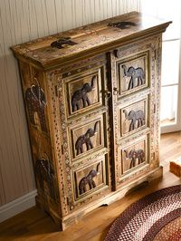 Elephant cabinet it would be better if it also had a secret door
