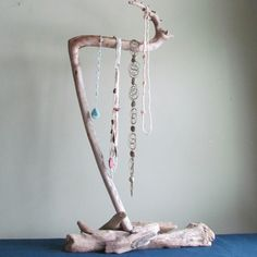 In Stock Xtra Tall Driftwood Necklace Display - Get this exact one! www.driftingconcepts.com
