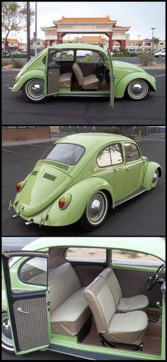 VW Fusca 4 portas Mais