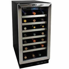 Danby Silhouette 34 Bottle Built-In Wine Cooler #wine #winecooler #34bottle #builtin #barstuffstore http://www.anrdoezrs.net/click-8042374-10497028-1396373656000?sid=Silhouette+34+Bottle+Built-In+Wine+Cooler&url=http://tracking.searchmarketing.com/click.asp%3Faid%3D120128510000039556&cjsku=DWC1534BLS